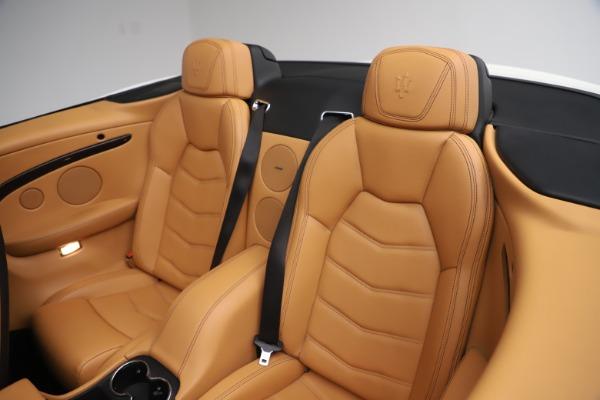 New 2017 Maserati GranTurismo Convertible Sport for sale Sold at Pagani of Greenwich in Greenwich CT 06830 28