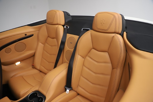 Used 2017 Maserati GranTurismo Convertible Sport for sale Sold at Pagani of Greenwich in Greenwich CT 06830 28