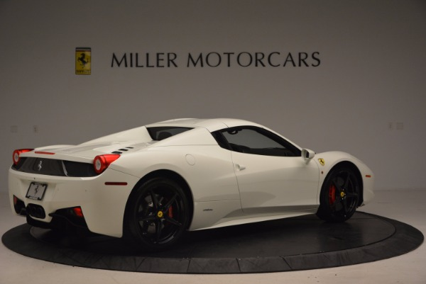 Used 2015 Ferrari 458 Spider for sale Sold at Pagani of Greenwich in Greenwich CT 06830 20