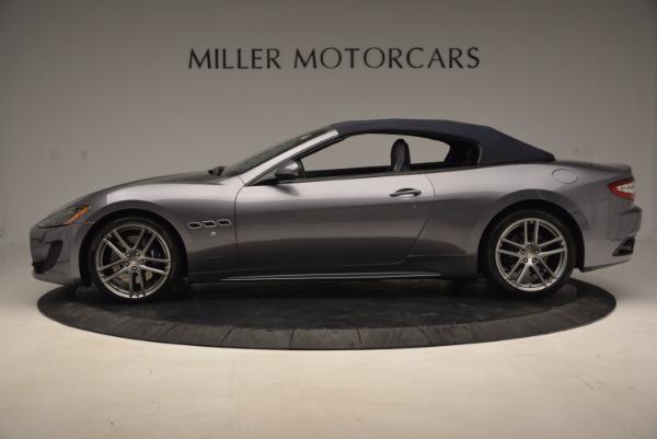 New 2016 Maserati GranTurismo Convertible Sport for sale Sold at Pagani of Greenwich in Greenwich CT 06830 12