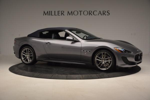 New 2016 Maserati GranTurismo Convertible Sport for sale Sold at Pagani of Greenwich in Greenwich CT 06830 15