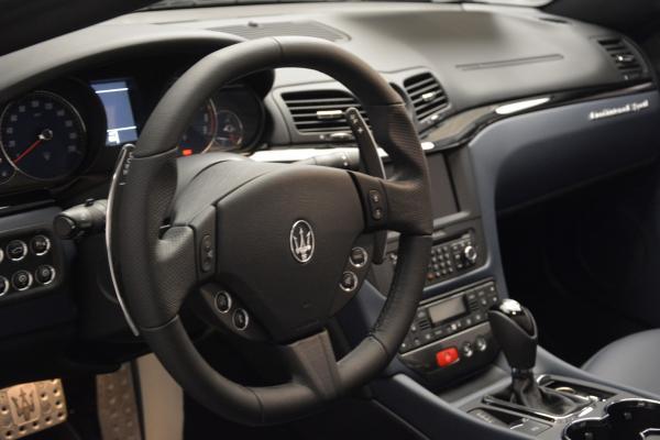 New 2016 Maserati GranTurismo Convertible Sport for sale Sold at Pagani of Greenwich in Greenwich CT 06830 18