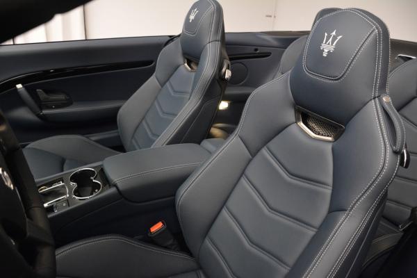 New 2016 Maserati GranTurismo Convertible Sport for sale Sold at Pagani of Greenwich in Greenwich CT 06830 22