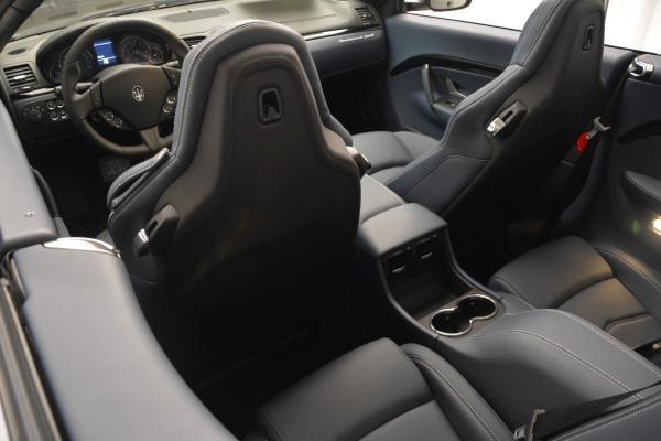New 2016 Maserati GranTurismo Convertible Sport for sale Sold at Pagani of Greenwich in Greenwich CT 06830 23