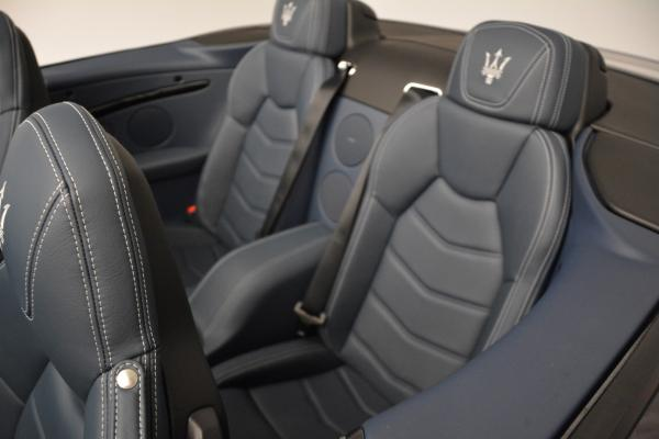 New 2016 Maserati GranTurismo Convertible Sport for sale Sold at Pagani of Greenwich in Greenwich CT 06830 25