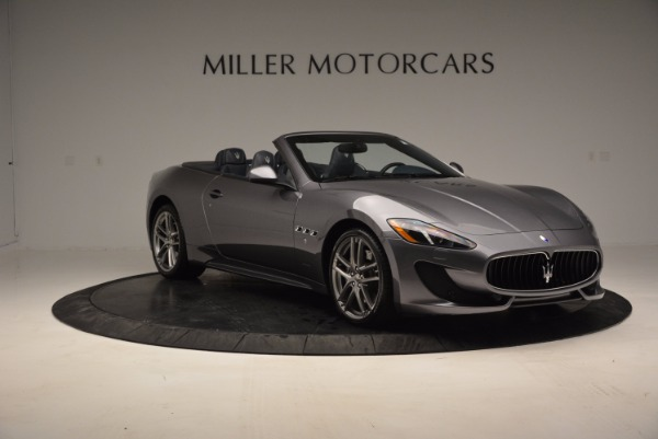 New 2016 Maserati GranTurismo Convertible Sport for sale Sold at Pagani of Greenwich in Greenwich CT 06830 8