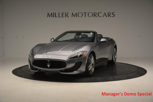 New 2016 Maserati GranTurismo Convertible Sport for sale Sold at Pagani of Greenwich in Greenwich CT 06830 1