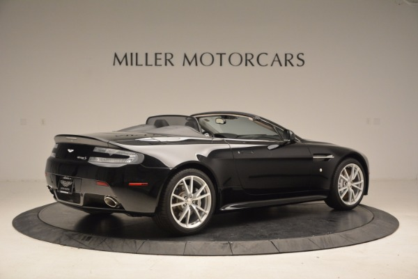 New 2016 Aston Martin V8 Vantage Roadster for sale Sold at Pagani of Greenwich in Greenwich CT 06830 8