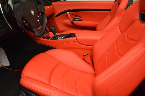 New 2016 Maserati GranTurismo Convertible Sport for sale Sold at Pagani of Greenwich in Greenwich CT 06830 26