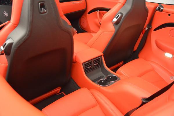New 2016 Maserati GranTurismo Convertible Sport for sale Sold at Pagani of Greenwich in Greenwich CT 06830 28