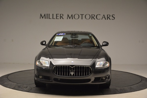 Used 2010 Maserati Quattroporte S for sale Sold at Pagani of Greenwich in Greenwich CT 06830 12