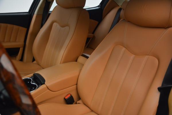 Used 2010 Maserati Quattroporte S for sale Sold at Pagani of Greenwich in Greenwich CT 06830 27