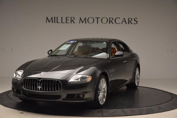 Used 2010 Maserati Quattroporte S for sale Sold at Pagani of Greenwich in Greenwich CT 06830 1