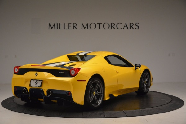 Used 2015 Ferrari 458 Speciale Aperta for sale Sold at Pagani of Greenwich in Greenwich CT 06830 17