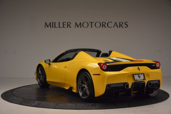 Used 2015 Ferrari 458 Speciale Aperta for sale Sold at Pagani of Greenwich in Greenwich CT 06830 5