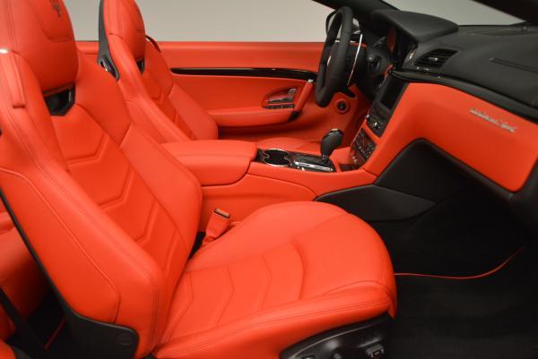 New 2017 Maserati GranTurismo Convertible Sport for sale Sold at Pagani of Greenwich in Greenwich CT 06830 24