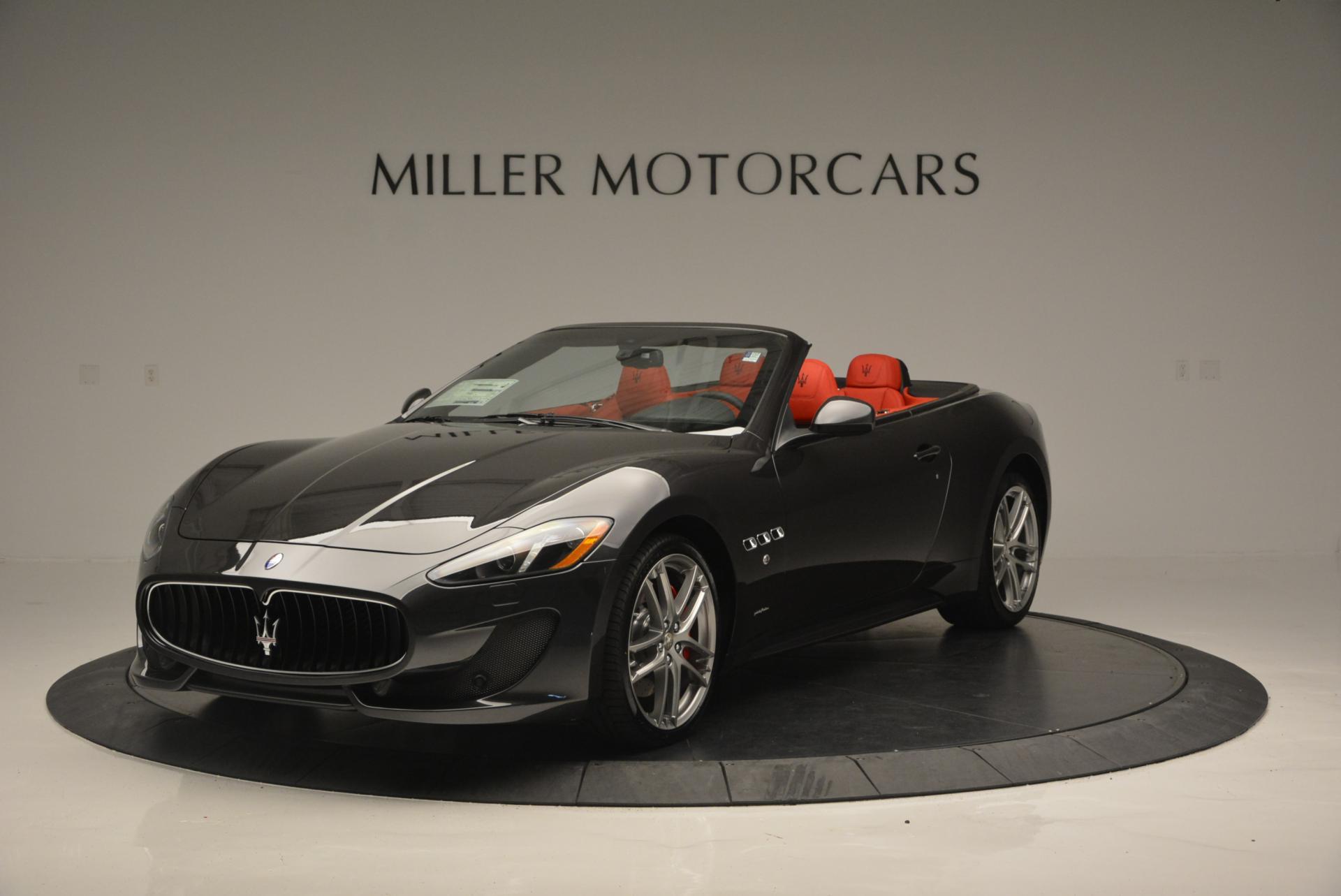 New 2017 Maserati GranTurismo Convertible Sport for sale Sold at Pagani of Greenwich in Greenwich CT 06830 1