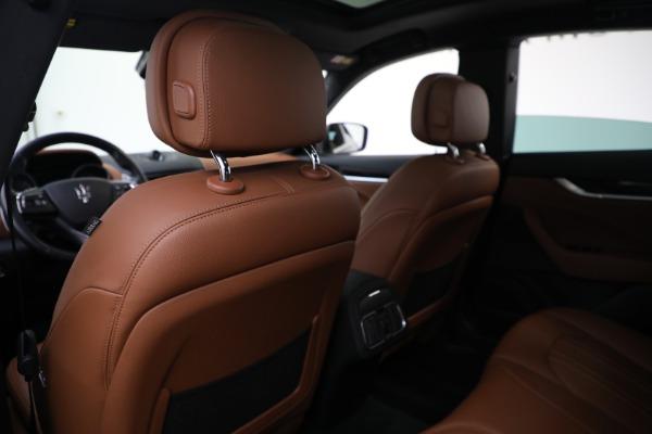 Used 2018 Maserati Levante Q4 for sale $57,900 at Pagani of Greenwich in Greenwich CT 06830 19