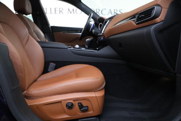 Used 2018 Maserati Levante Q4 for sale $57,900 at Pagani of Greenwich in Greenwich CT 06830 22
