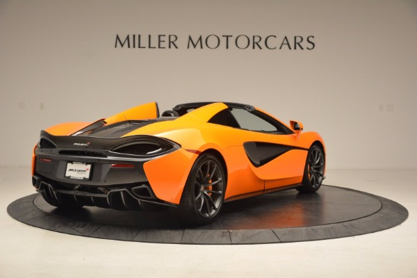 New 2018 McLaren 570S Spider for sale Sold at Pagani of Greenwich in Greenwich CT 06830 7