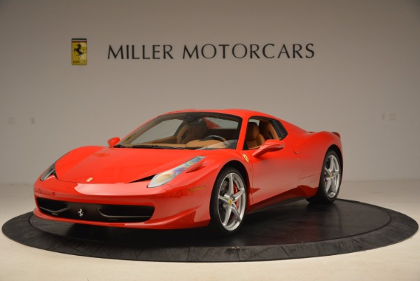 Used 2012 Ferrari 458 Spider for sale Sold at Pagani of Greenwich in Greenwich CT 06830 13