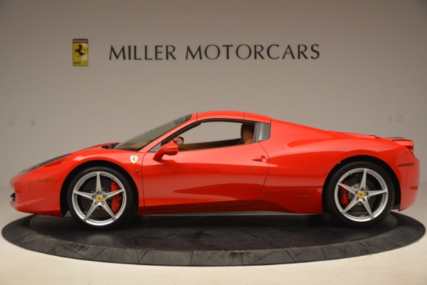 Used 2012 Ferrari 458 Spider for sale Sold at Pagani of Greenwich in Greenwich CT 06830 15