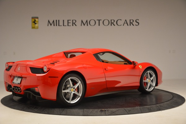 Used 2012 Ferrari 458 Spider for sale Sold at Pagani of Greenwich in Greenwich CT 06830 20