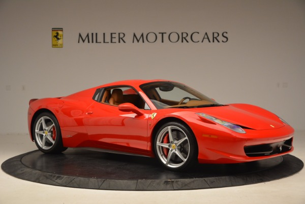 Used 2012 Ferrari 458 Spider for sale Sold at Pagani of Greenwich in Greenwich CT 06830 22