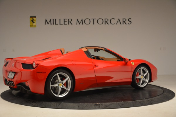 Used 2012 Ferrari 458 Spider for sale Sold at Pagani of Greenwich in Greenwich CT 06830 8