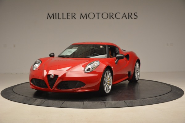 New 2018 Alfa Romeo 4C Coupe for sale Sold at Pagani of Greenwich in Greenwich CT 06830 1