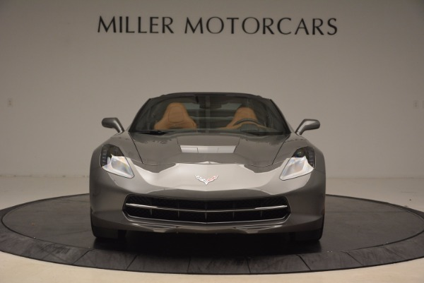 Used 2015 Chevrolet Corvette Stingray Z51 for sale Sold at Pagani of Greenwich in Greenwich CT 06830 12