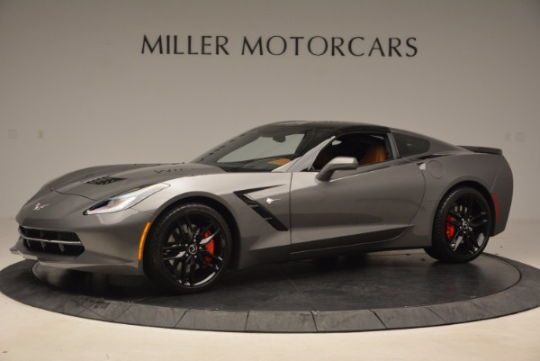 Used 2015 Chevrolet Corvette Stingray Z51 for sale Sold at Pagani of Greenwich in Greenwich CT 06830 14