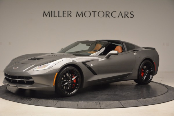 Used 2015 Chevrolet Corvette Stingray Z51 for sale Sold at Pagani of Greenwich in Greenwich CT 06830 2