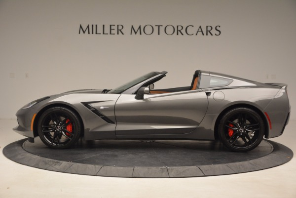 Used 2015 Chevrolet Corvette Stingray Z51 for sale Sold at Pagani of Greenwich in Greenwich CT 06830 3