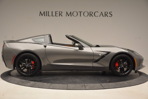Used 2015 Chevrolet Corvette Stingray Z51 for sale Sold at Pagani of Greenwich in Greenwich CT 06830 9