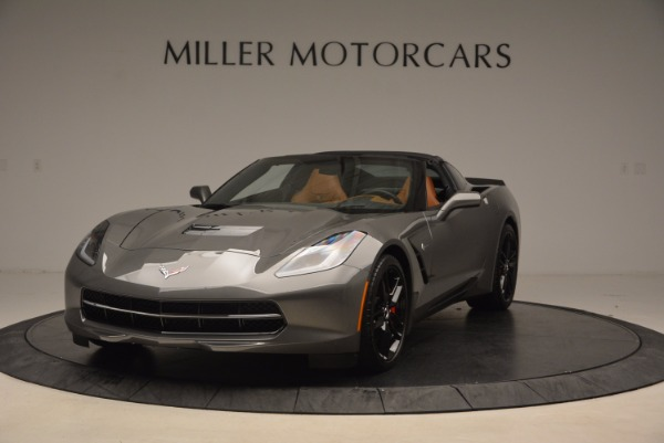 Used 2015 Chevrolet Corvette Stingray Z51 for sale Sold at Pagani of Greenwich in Greenwich CT 06830 1