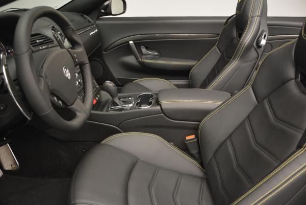 New 2017 Maserati GranTurismo Convertible Sport for sale Sold at Pagani of Greenwich in Greenwich CT 06830 22