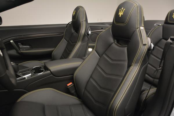 New 2017 Maserati GranTurismo Convertible Sport for sale Sold at Pagani of Greenwich in Greenwich CT 06830 23