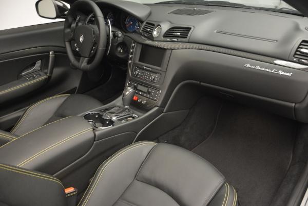New 2017 Maserati GranTurismo Convertible Sport for sale Sold at Pagani of Greenwich in Greenwich CT 06830 25