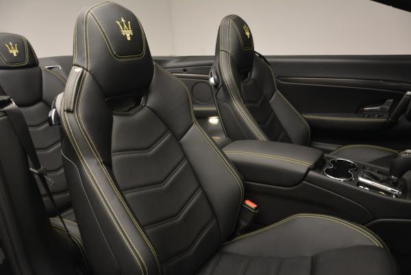 New 2017 Maserati GranTurismo Convertible Sport for sale Sold at Pagani of Greenwich in Greenwich CT 06830 27