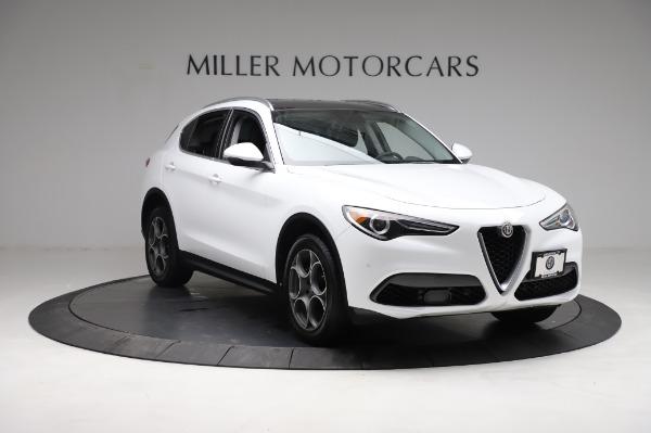Used 2018 Alfa Romeo Stelvio Q4 for sale Sold at Pagani of Greenwich in Greenwich CT 06830 12