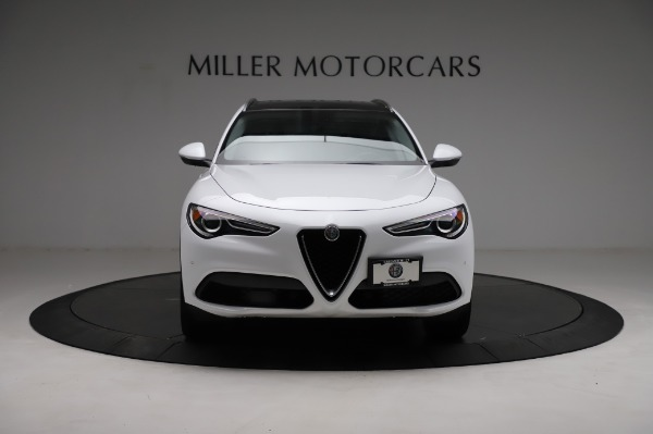 Used 2018 Alfa Romeo Stelvio Q4 for sale Sold at Pagani of Greenwich in Greenwich CT 06830 13