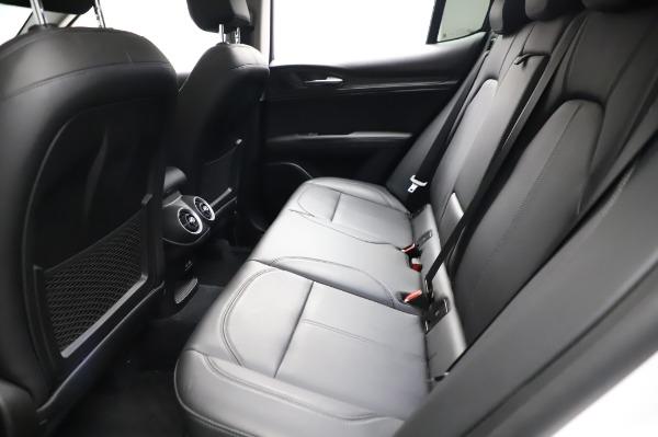 Used 2018 Alfa Romeo Stelvio Q4 for sale Sold at Pagani of Greenwich in Greenwich CT 06830 19
