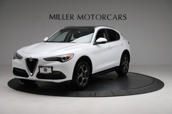 Used 2018 Alfa Romeo Stelvio Q4 for sale Sold at Pagani of Greenwich in Greenwich CT 06830 2