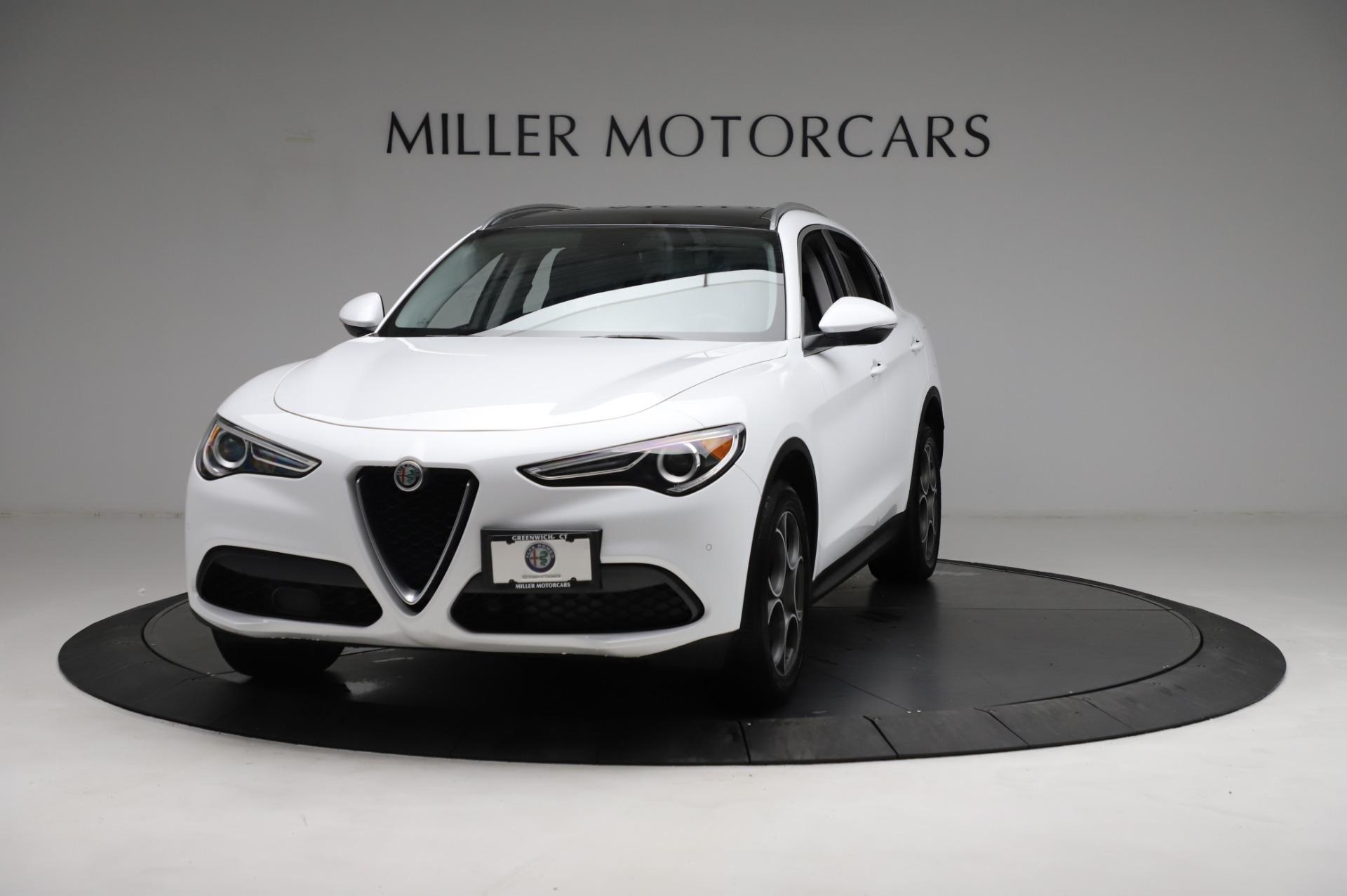 Used 2018 Alfa Romeo Stelvio Q4 for sale Sold at Pagani of Greenwich in Greenwich CT 06830 1