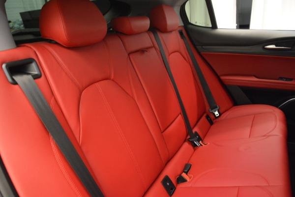 New 2018 Alfa Romeo Stelvio Q4 for sale Sold at Pagani of Greenwich in Greenwich CT 06830 21