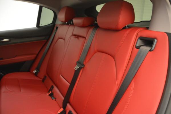 New 2018 Alfa Romeo Stelvio Ti Q4 for sale Sold at Pagani of Greenwich in Greenwich CT 06830 18
