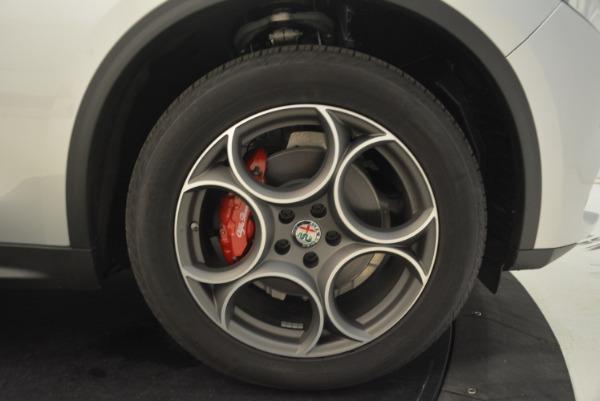 New 2018 Alfa Romeo Stelvio Ti Q4 for sale Sold at Pagani of Greenwich in Greenwich CT 06830 25