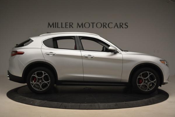 New 2018 Alfa Romeo Stelvio Ti Q4 for sale Sold at Pagani of Greenwich in Greenwich CT 06830 9