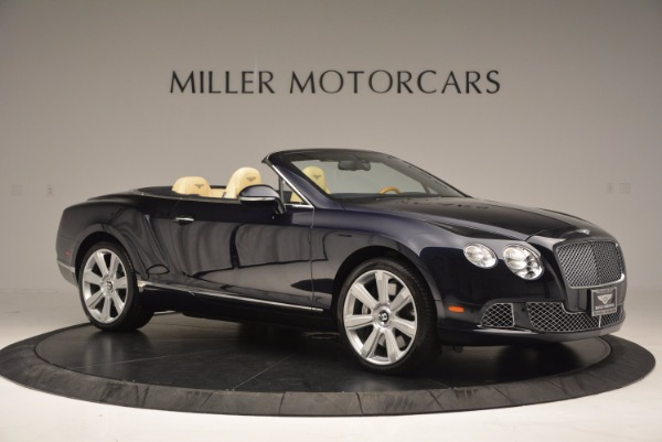 Used 2012 Bentley Continental GTC for sale Sold at Pagani of Greenwich in Greenwich CT 06830 10